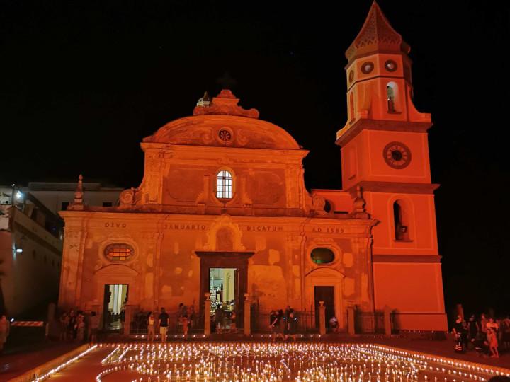 La luminaria di San Domenico a Praiano - Travel Amalfi Coast