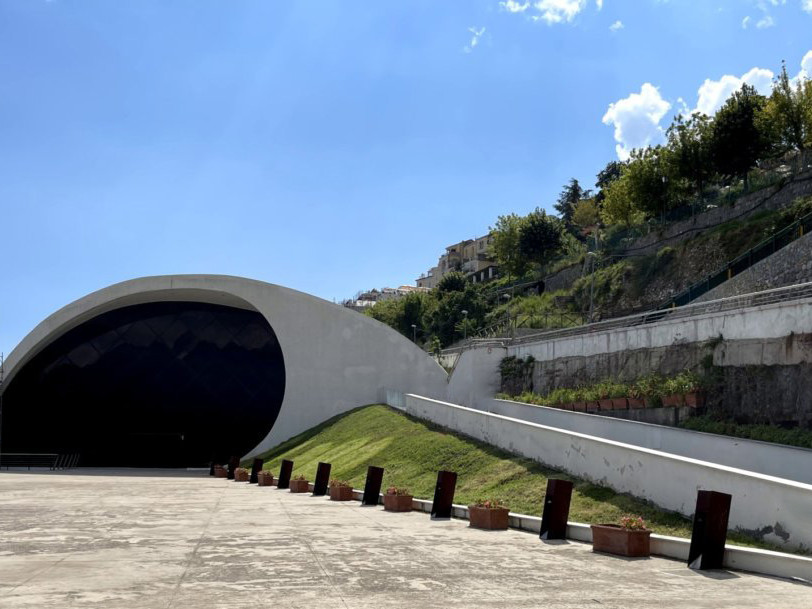Auditorium Oscar Niemeyer - Travel Amalfi Coast by Travelmar